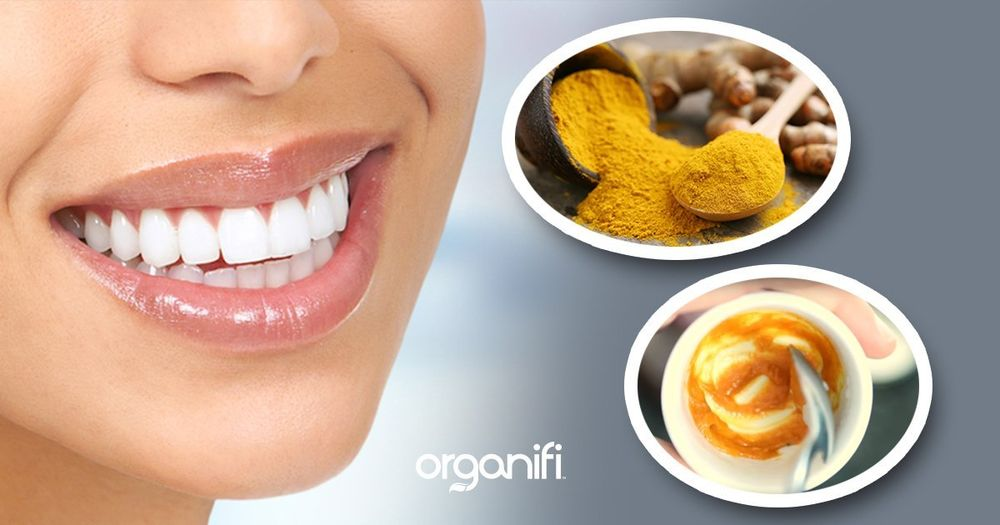 After brushing your teeth with turmeric, it is  necessary to remove its remnants